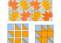 Elegant easy maple leaf quilt block pattern 11 Modern Quilt Blocks Patterns Gallery