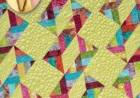 Elegant eleanor burns signature quilt pattern triple twist quilt 11 Modern Eleanor Burns Quilt Patterns