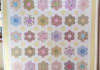 Elegant fabadashery longarm quilting grandmothers flower garden 9 Unique Flower Garden Quilt Pattern Inspirations