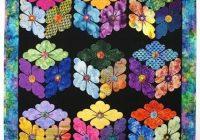 Elegant flower boxes quilt pattern details diane flowers in 10 Interesting Flower Patchwork Quilt Patterns