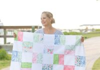 Elegant free ba quilt pattern for beginners simple squares quilt 10 Interesting Easy Square Quilt Patterns Gallery