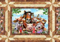 Elegant free pattern farm selfies equilter blogequilter blog Unique Farm Animal Quilt Patterns Inspirations