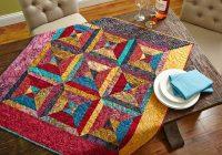Elegant free table topper patterns allpeoplequilt 9 Beautiful Table Topper Quilt Patterns