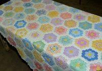 Elegant grandmothers flower garden Grandma Flower Garden Quilt Pattern