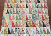 Elegant half rectangle triangles triangle quilt quilts quilt 9 Beautiful Triangle Patchwork Quilt Gallery