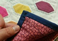 Elegant hand binding video tutorial 9 New Hand Sewing Quilt Binding Inspirations
