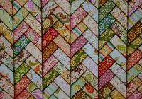 Elegant heather bailey friendship braid ready for quilting 11 Cozy Friendship Braid Quilt Pattern Gallery