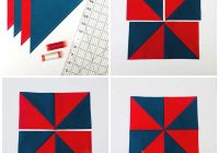 Elegant how to make a perfect pinwheel quilt block the seasoned 9 Unique Pinwheel Quilt Block Pattern Gallery