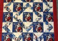Elegant idea for panels or large print focus fabrics designer plans 9 Stylish Quilt Patterns For Large Prints Gallery