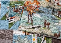 Elegant in color order deer sparkling cider quilt 11 Modern Deer Fabric For Quilting Inspirations