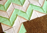 Elegant its a work in progress chevron rag quily flannel rag 9 Cool Chevron Rag Quilt Pattern Inspirations