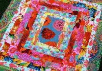 Elegant kaffe fassett quilt patterns free stunning blues reds 10 Unique Beautiful Quilt Patterns Using Kaffe Fassett Fabric Inspirations