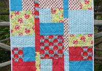 Elegant kate henderson quilts fat quarter ba quilt tutorial Cozy Easy Fat Quarter Quilt Patterns
