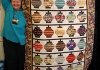 Elegant lantern quilt asian quilts quilt patterns japanese quilts 11 Stylish Chinese Lantern Quilt Pattern Inspirations