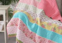Elegant levtex home pink blue vintage garden reversible quilted Beautiful Vintage Floral Quilted Throw Inspirations