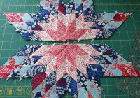 Elegant lone star block tutorial hopeful homemaker 9 Beautiful Lone Star Quilt Pattern Free Gallery
