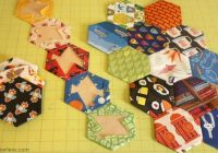 Elegant making a hexy kit the hexagon i spy quilt project 9   I Spy Quilt Pattern Hexagon Inspirations
