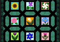 Elegant miniature garden maze 9 New Garden Maze Quilt Pattern