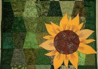 Elegant natures best quilt contest quilters fun quilting 10 Interesting Sunflower Quilt Pattern For Beginners Gallery