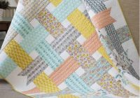 Elegant nordic ribbons ba quilt pattern modern quilt patterns Cozy Baby Quilt Patterns Gallery