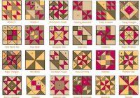 Elegant patchwork patterns with names vintage quilts patterns 9 Unique Vintage Quilt Block Patterns Gallery