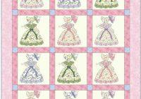 Elegant pdf sunbonnet sue southern belle quilt pattern etsy in 10 Unique Southern Belle Quilt Pattern