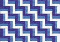 Elegant rail fence quilt pattern designs easy beginner quilt 9 Elegant Fence Rail Quilt Pattern Gallery