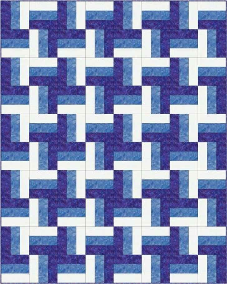 Permalink to 9 Elegant Fence Rail Quilt Pattern Gallery