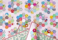 Elegant red pepper quilts a scrappy grandmothers flower garden 10 Modern Grandmother Flower Garden Quilt Pattern Gallery