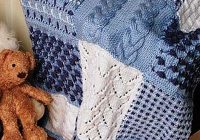 Elegant sampler knitting patterns for afghans accessories and more New Knitted Quilt Block Patterns Inspirations