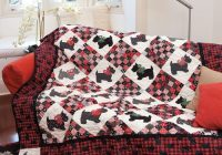Elegant scottie dog quilt 9 Beautiful Scottie Dog Quilt Pattern Gallery