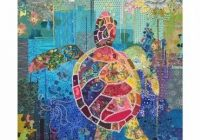 Elegant seawell sea turtle collage quilt pattern laura heine New Quilts With Turtles Inspirations