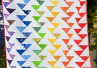 Elegant sew create it rainbow migrating geese tutorial flying 11 Stylish Flying Geese Quilt Pattern Instructions Inspirations