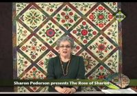 Elegant sharon pederson presents rose of sharon 10 Beautiful Rose Of Sharon Quilt Pattern Inspirations