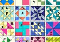 Elegant simple quilt blocks beginner block pattern lessons basic 10 Elegant Simple Quilt Square Patterns