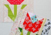 Elegant terrific tulip quilt block 9   Tulip Quilt Block Pattern Inspirations
