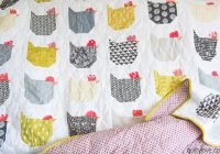 Elegant the chicken quilt link to free tutorial quilty love 9 Interesting Lovely Amazon Quilting Fabric Inspiration Gallery