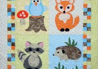 Elegant this adorable ba quilt pattern is quick and easy to make 11 Stylish Easy Applique Quilt Patterns