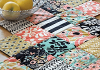 Elegant this zig zag runner is so easy to make quilting digest 10 Stylish Easy Quilted Table Runner Patterns Inspirations