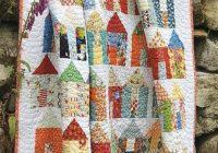 Elegant village quilt pattern free said with love Free Patchwork Quilt Patterns Australia Inspirations