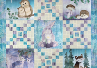 Elegant woodland hollow pieced quilt pattern mckenna ryan Modern Mckenna Ryan Quilt Patterns Inspirations