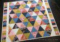 equilateral triangle quilt kreations julz Interesting Equilateral Triangle Quilt Tutorial Inspirations