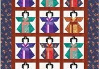eternity knot paper piecenumber quilting pattern Elegant Kimono Quilt Block Pattern Inspirations