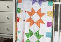 exclusively annies quilt design color burst ba quilt pattern Interesting Quilts For Babies Patterns Inspirations