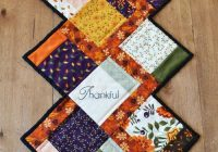 fall charm quilted table runner patchwork table runner Quilted Table Runners Patterns Gallery