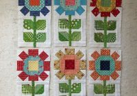 farm girl friday week seven sunflower quilts flower 9 Modern Pinterest Girl On Farm Quilt Gallery