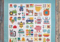 farm girl vintage 2 book lori holt of bee in my bonnet for its sew emma ise 931 Stylish Vintage Quilt Blocks Inspirations