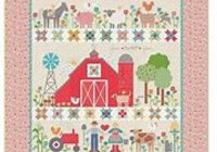 farm sweet farm quilt kit reservation featuring farm girl vintage lori holt Modern Farm Girl Vintage Quilt