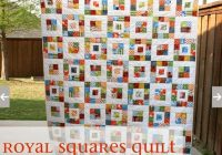 fast and easy scrap quilt royal squares quilt pattern Elegant Easy Scrappy Quilt Patterns Inspirations