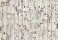fat quarter wooden deer silhouette cotton quilting fabric timeless treasures 1245365757902 on ebid united states 162165306 11 Modern Deer Fabric For Quilting Inspirations